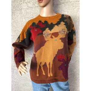 VINTAGE | Fall Cabin Sweater 100% cotton